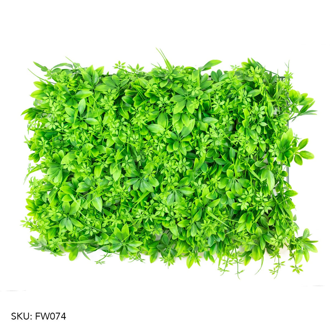 Artificial Fern Wall Panel