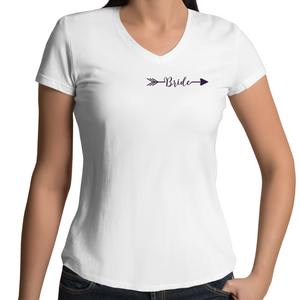 Just Married V-Neck T-Shirt