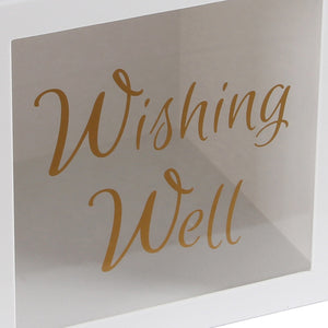 Acrylic Clear Wishing Well