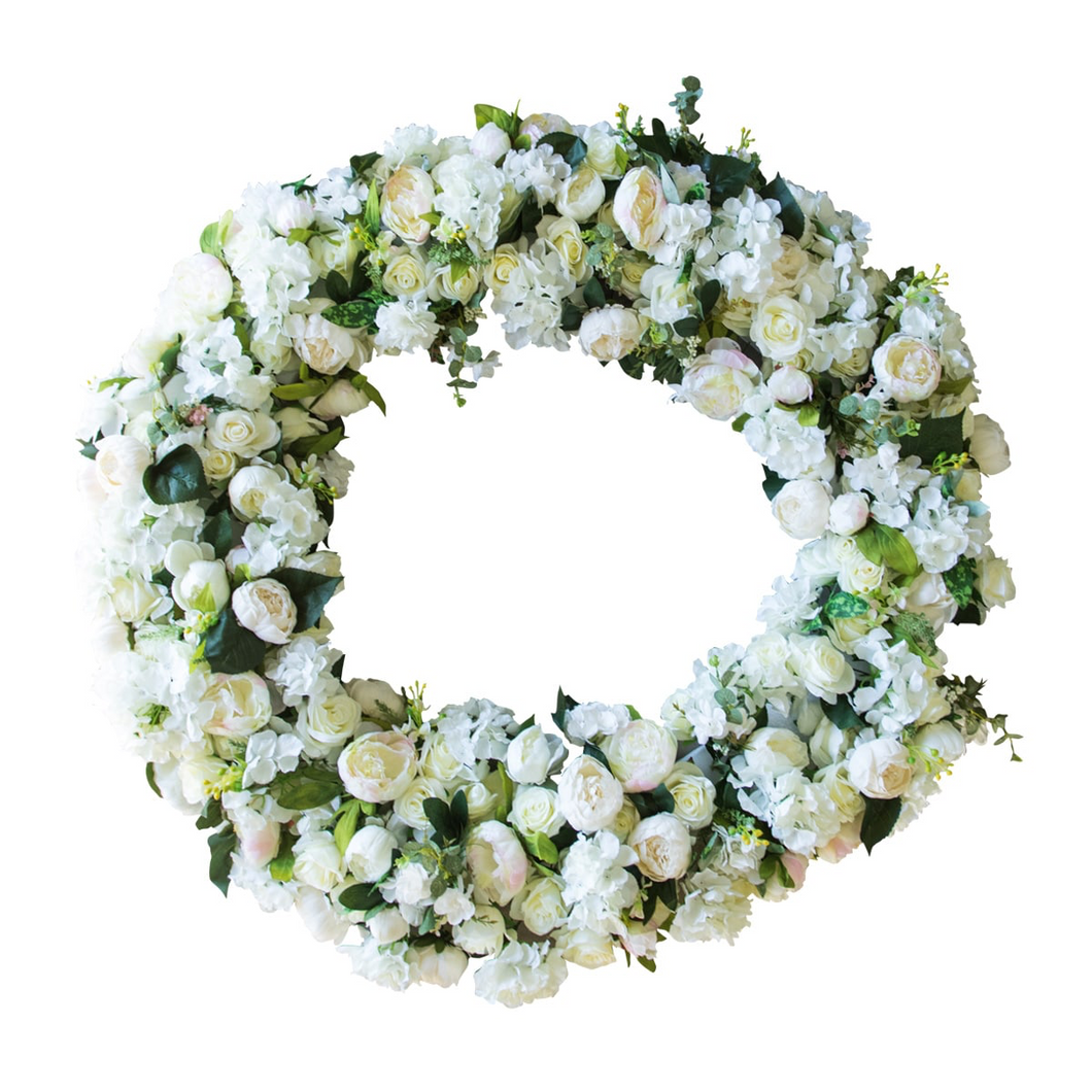Giant Artificial Flower Wreath