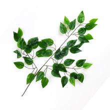 Load image into Gallery viewer, Artificial Ficus Leaf Branch (12)