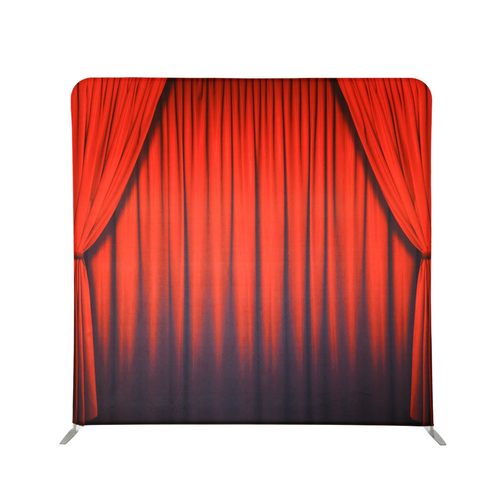 Backdrop - Red Curtains
