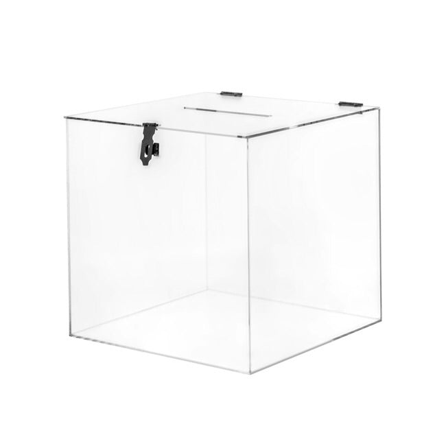 Clear Acrylic Wishing Well Box