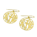 Load image into Gallery viewer, Monogram Earrings