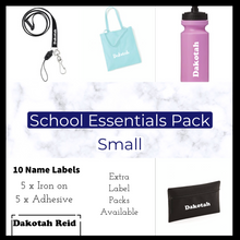 Load image into Gallery viewer, Personalised School Essentials Pack - Small