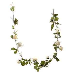 Cream Louisa Rose Garland