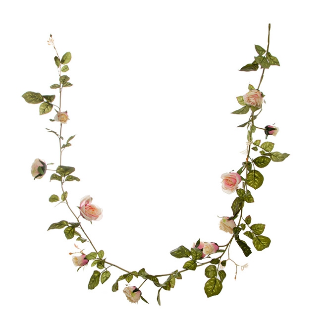 Pink Louisa Rose Garland