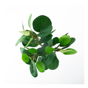 Artificial Fig Leaf Branch