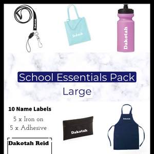 Personalised School Essentials Pack - Large