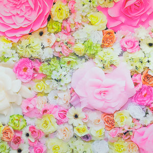 Backdrop - Mixed Floral Bright