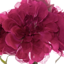 Load image into Gallery viewer, Hot Pink Dahlia & Cabbage Rose Bouquet