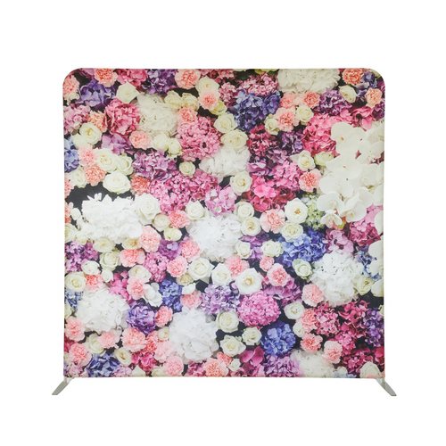 Backdrop - Mixed Floral Pastel