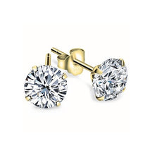 Load image into Gallery viewer, Cubic Zirconia Stud Earrings