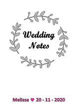 Load image into Gallery viewer, Linen Wedding Book