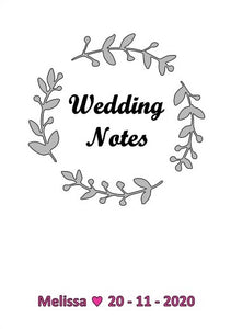 Linen Wedding Book
