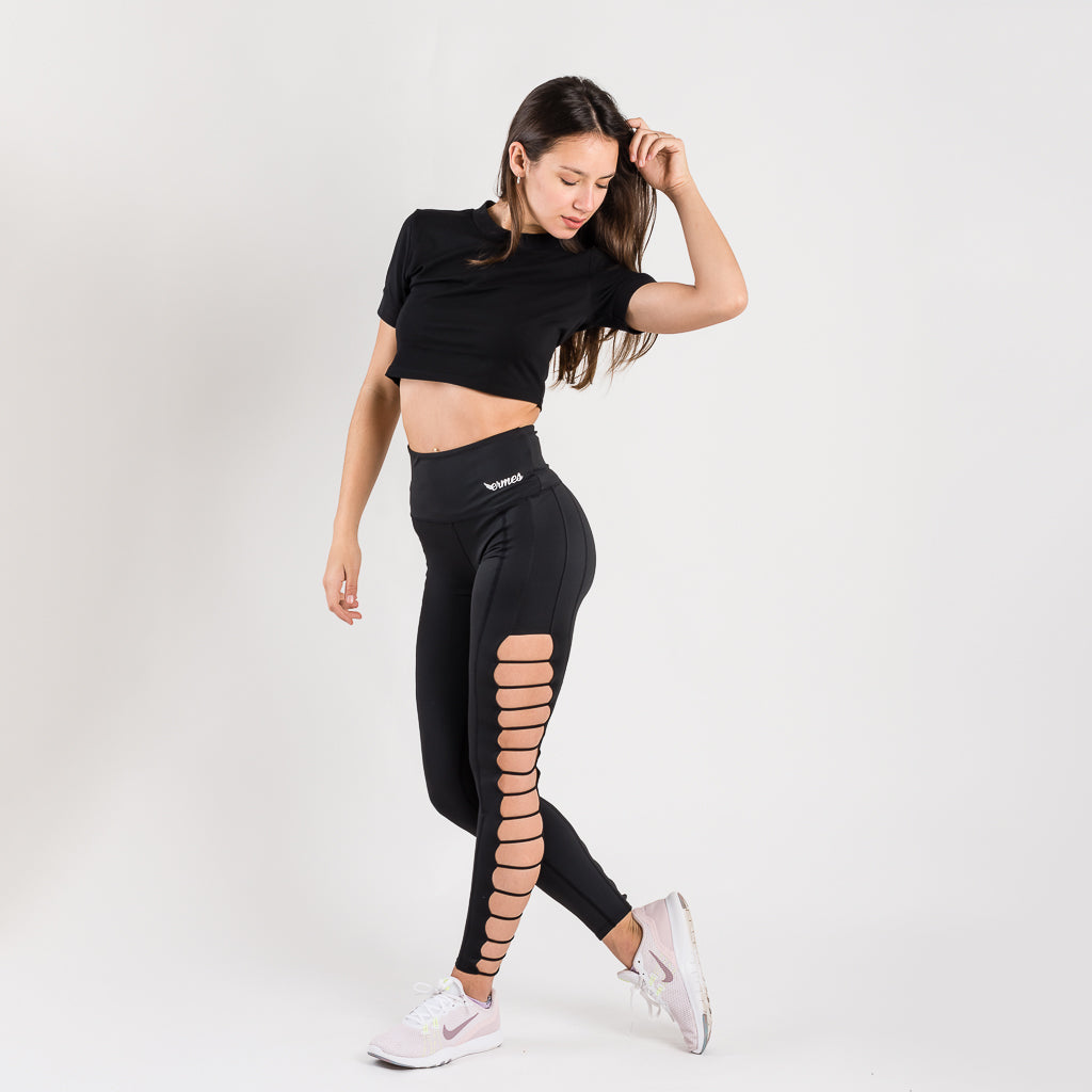 Artemisa Black Leggings