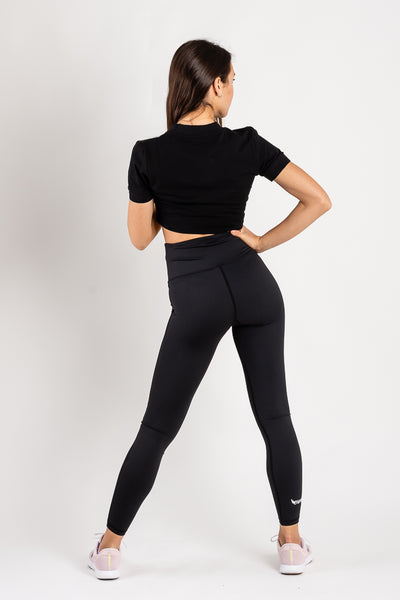 Gea Black Leggings
