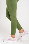 Aphrodite Green Leggings