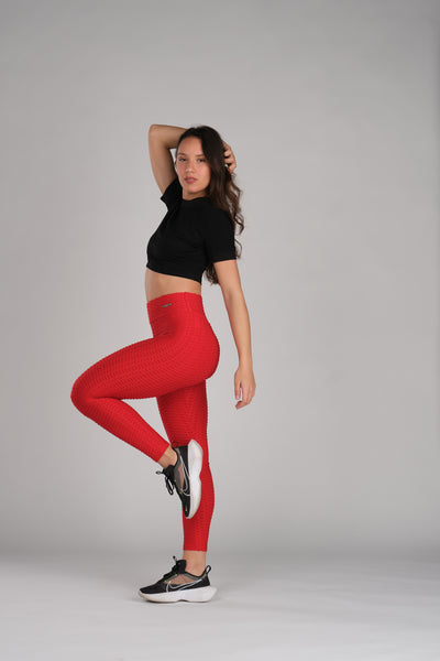 Candy Red Leggings