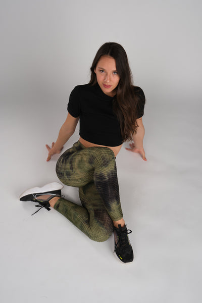 Hunter Green Leggings