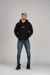 Square Ermes Dance Men's Black Hoodie