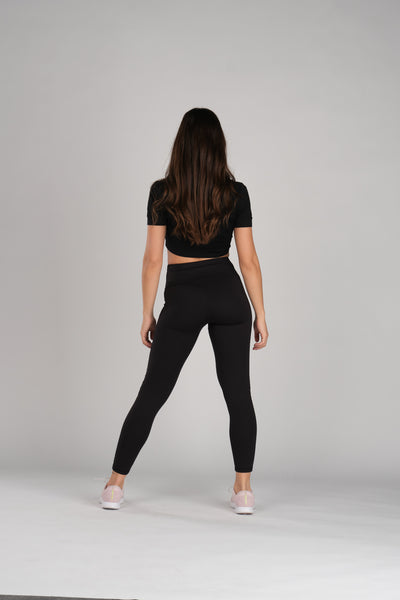 Infinite Black Leggings