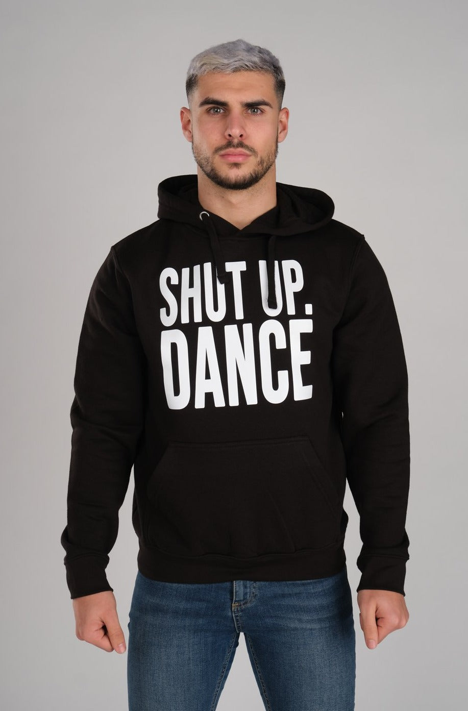 Shut Up Dance Men's Black Hoodie