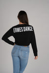 Bold Ermes Dance Women's Long Sleeve T-Shirt