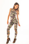 Sculpture Jumpsuit Pixel Camo