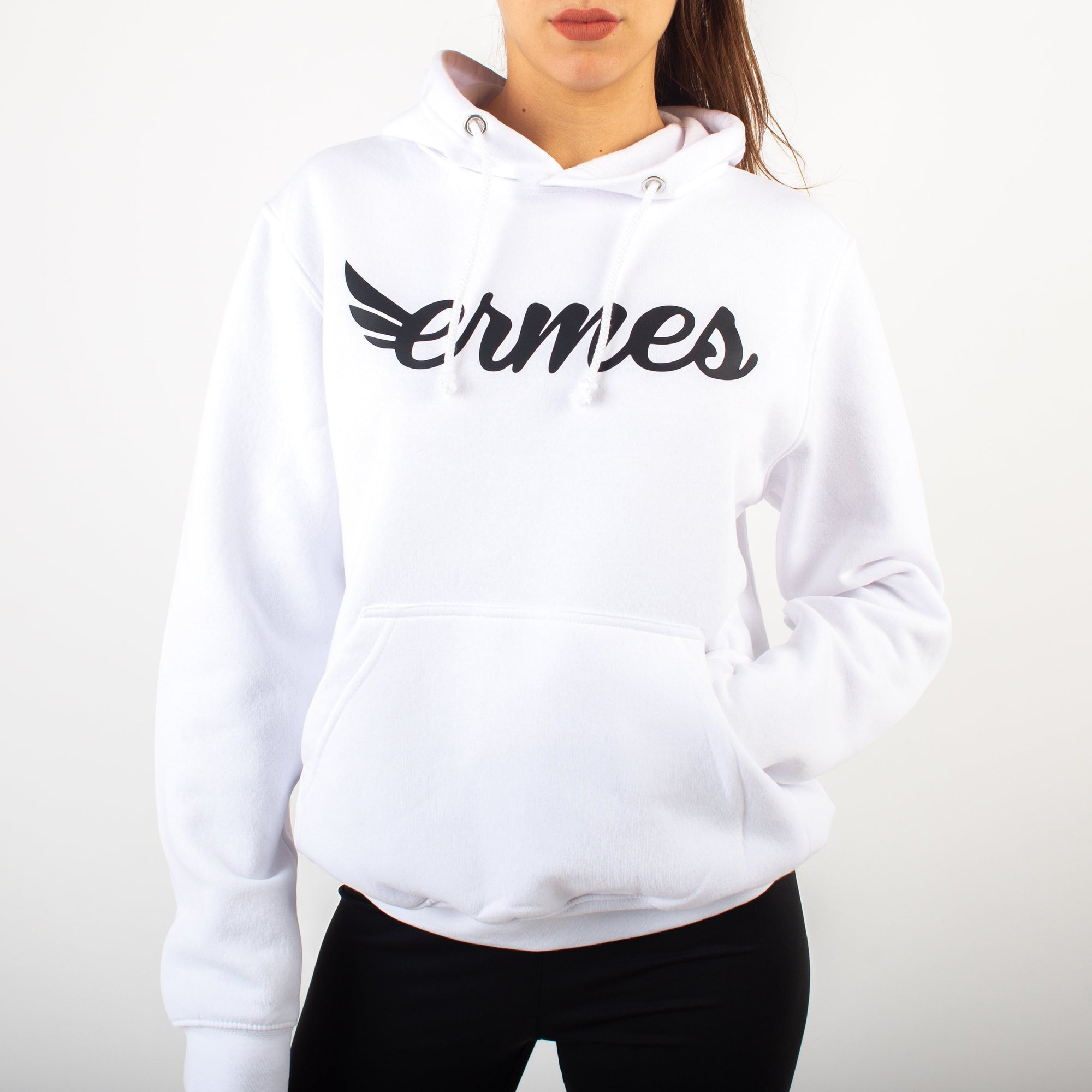 Woman's White Hoodie