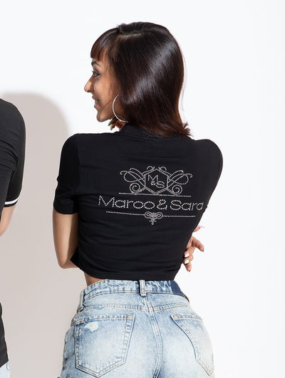 Woman Shiny T-shirt X Marco & Sara
