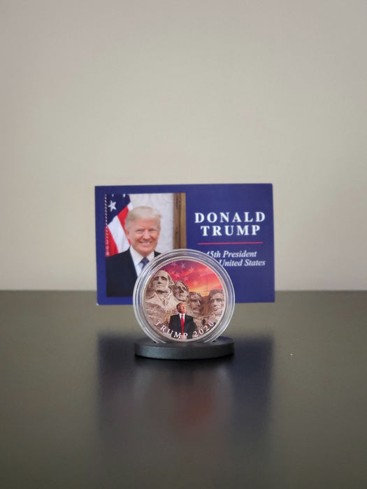Mt. Rushmore Trump 2020 Coin