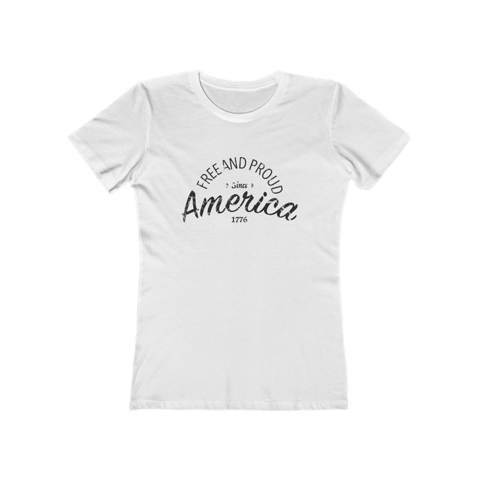 Free And Proud American - Women's