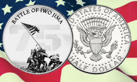 Battle of Iwo Jima 75th Anniversary Commemorative Coin