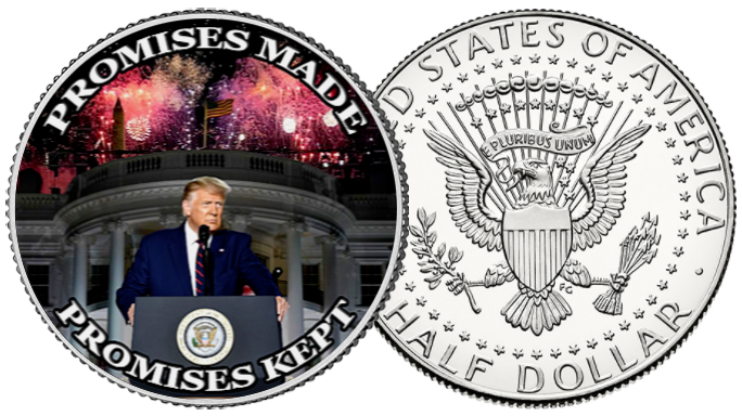 Promises Made, Promises Kept Coin