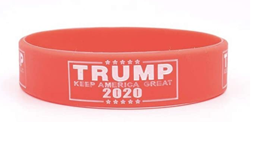 Donald Trump Election Keep America Great 2020 Silicone Bracelets