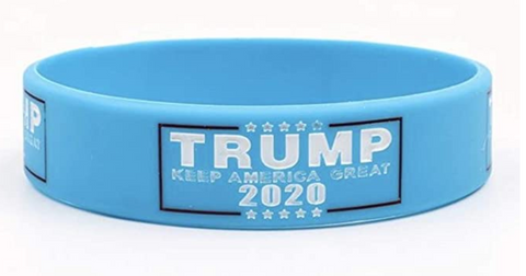 Image of Donald Trump Election Keep America Great 2020 Silicone Bracelets