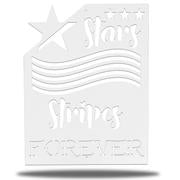 Stars & Stripes Metal Sign