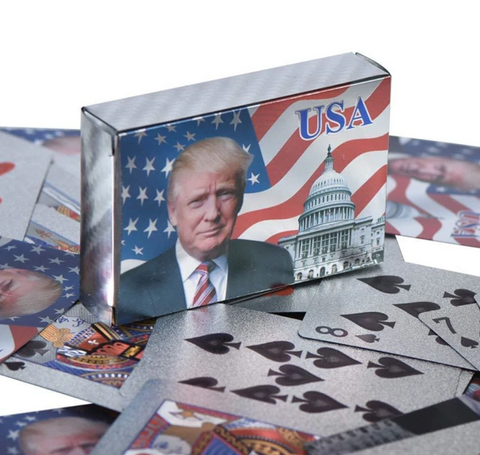 Image of Donald Trump Playing Cards
