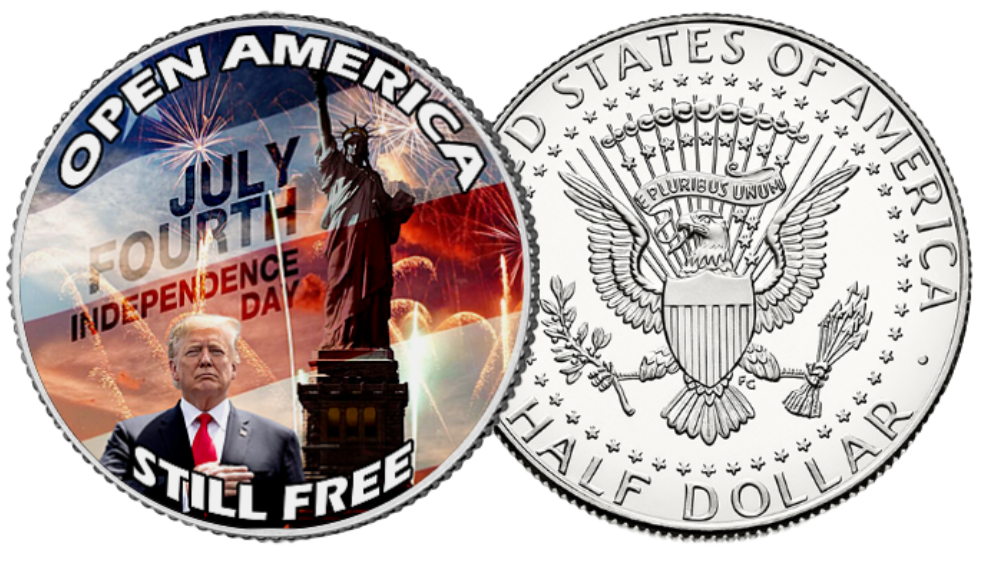 Open America Trump Coin