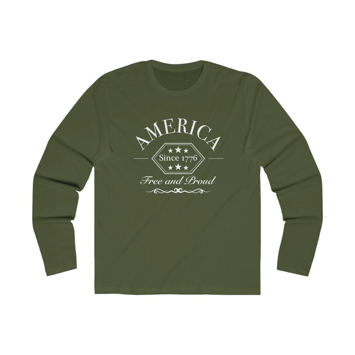 Free And Proud Vintage - Black & OD Green