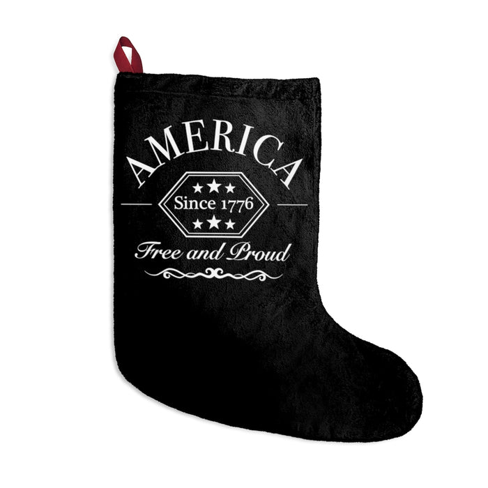 Proud American Vintage Christmas Stocking