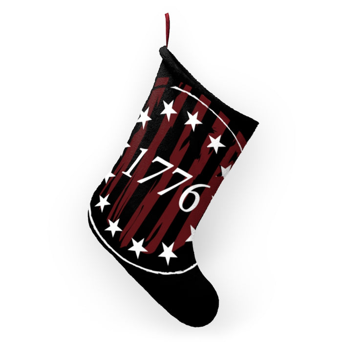 Betsy Ross 1776 Christmas Stocking