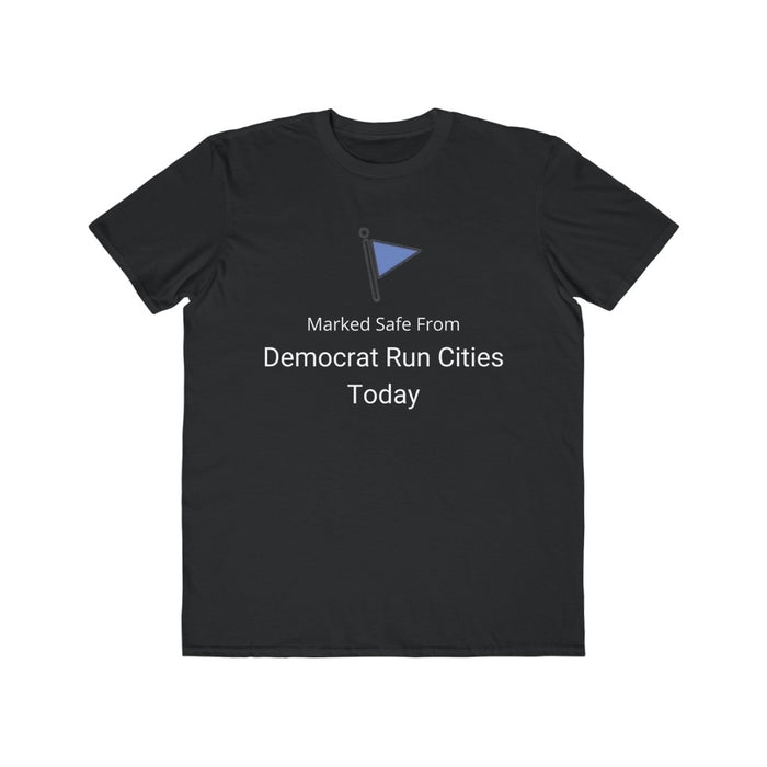 Marked Safe From Democrat Cities - Black