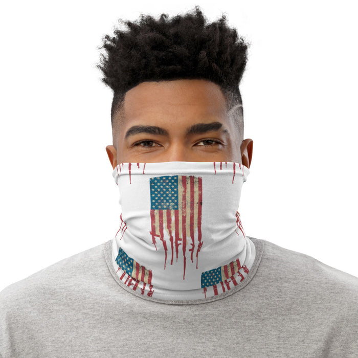 Distressed Amerigun Flag Neck Gaiter