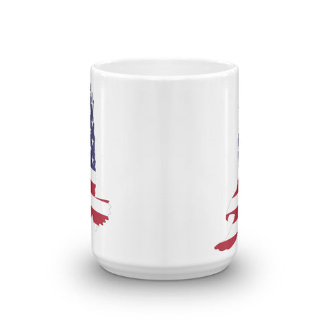 Image of American Flag Eagle Mug