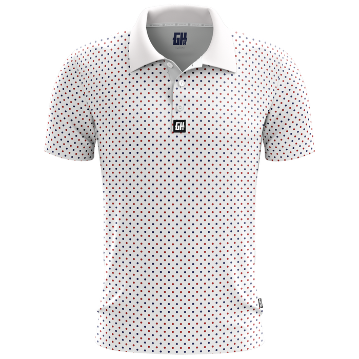 Connect The Dots Golf Polo