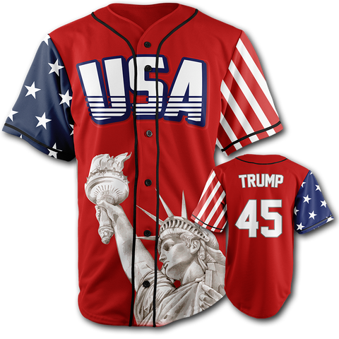 Image of Trump #45 Baseball Jersey