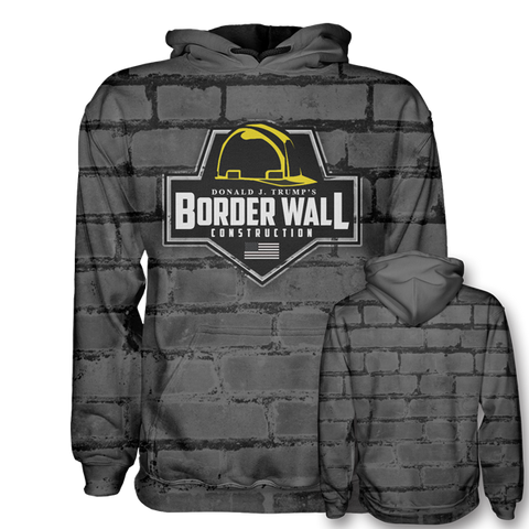 Image of Border Wall Construction Hoodie