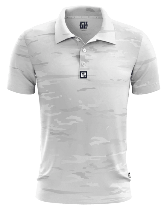 Arctic Camo Golf Polo